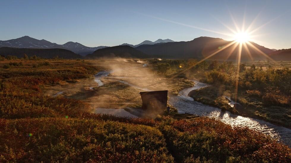 بوتين: شبه جزيرة كامتشاتكا أجمل منطقة في العالم