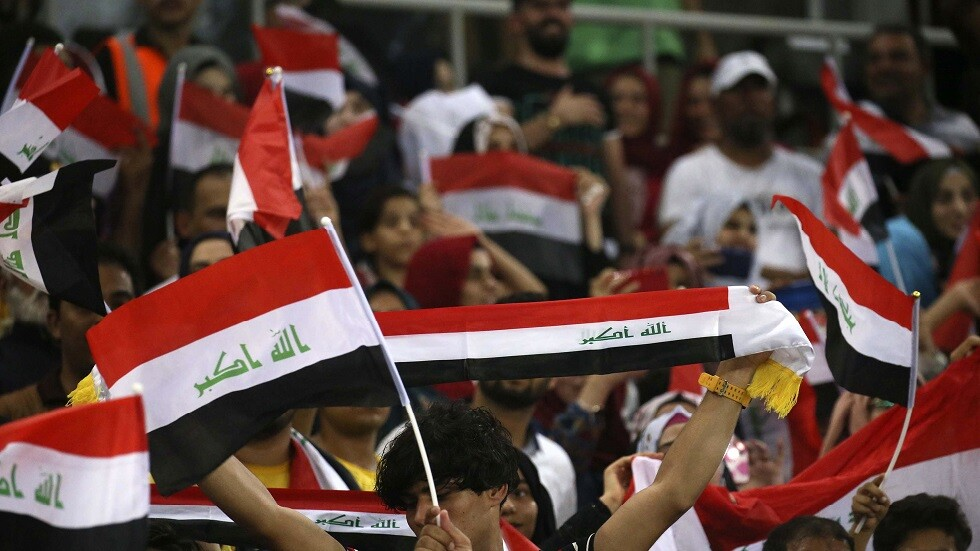 حارس منتخب العراق يعتذر للجمهور بسبب هدف