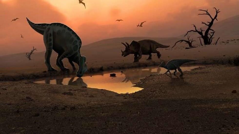 اكتشاف ديناصور غريب بـ