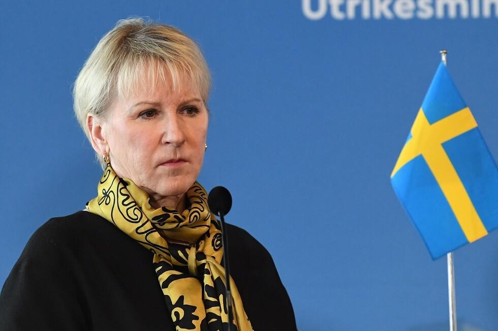 السويد.. وزيرة الخارجية مارغوت فالستروم تستقيل من منصبها