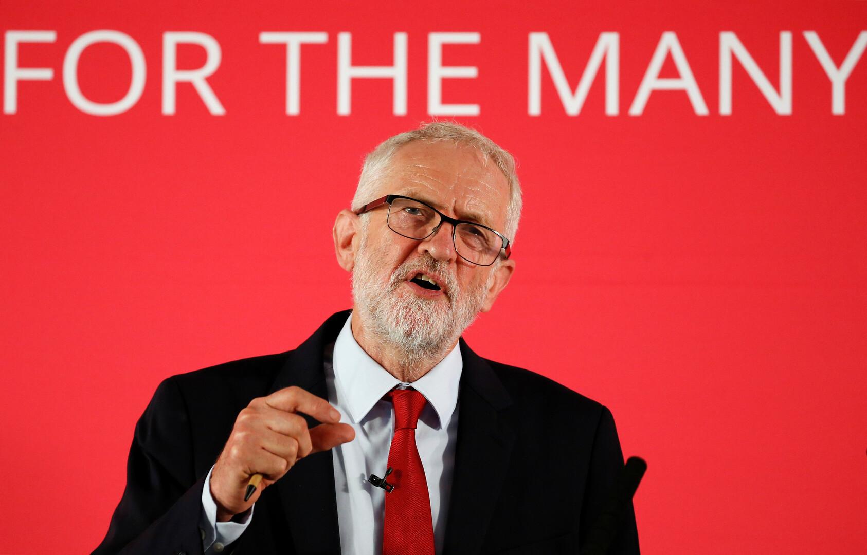 زعيم حزب العمال البريطاني، جيريمي كوربين