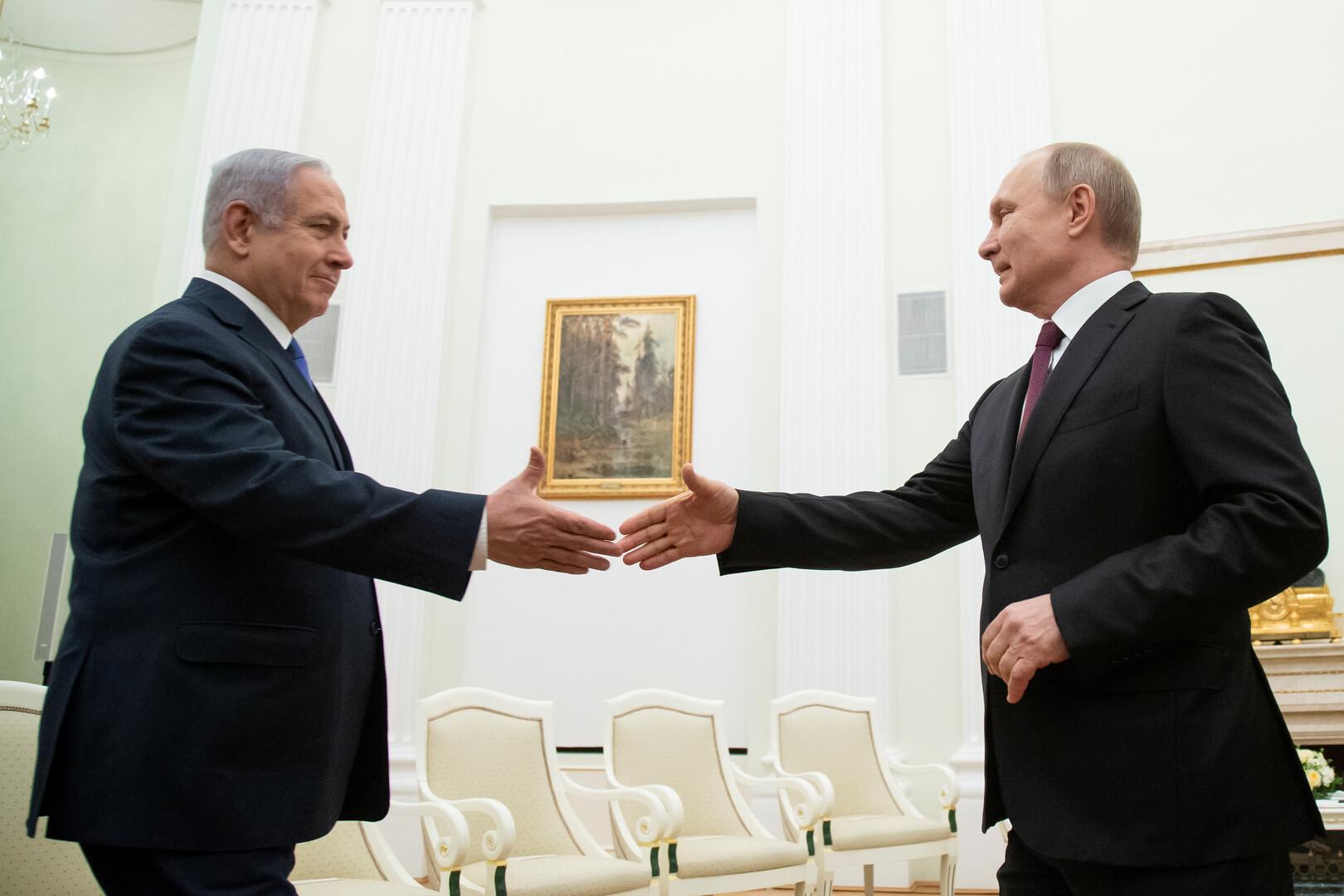 نتنياهو يجذب موسكو إلى حملته الانتخابية