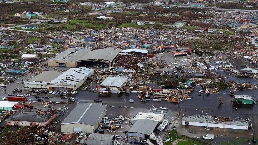 43 قتيلا في الباهاماس جراء