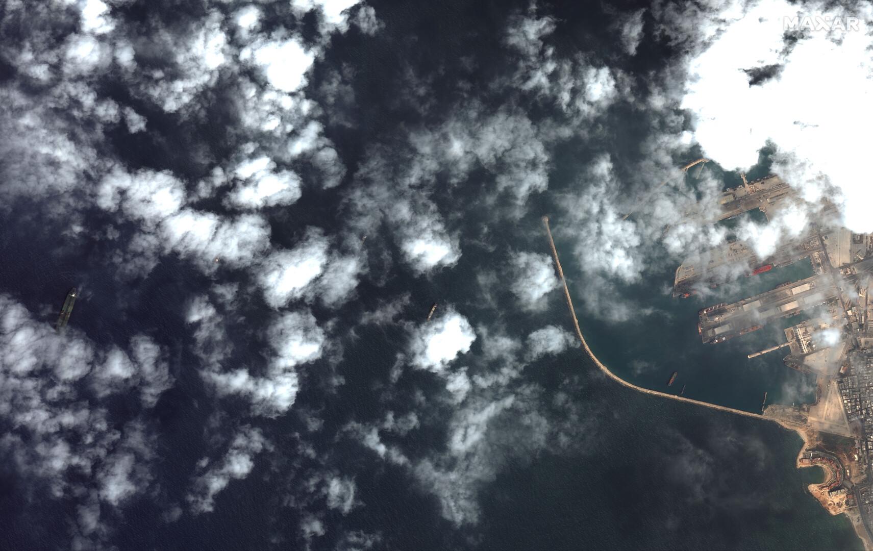 الأقمار الصناعية ترصد ناقلة النفط الإيراني قبالة الساحل السوري (صور+فيديو)