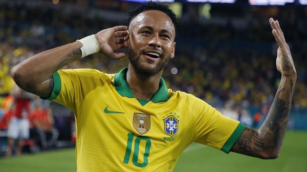 شاهد.. تعادل مثير بين البرازيل وكولومبيا