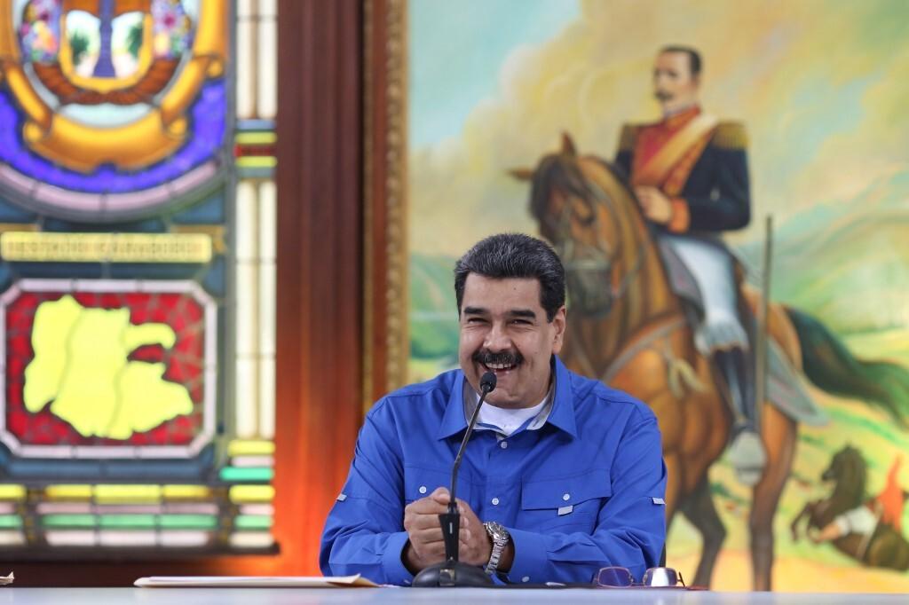 مادورو يعلق على صور غوايدو مع تجار مخدرات
