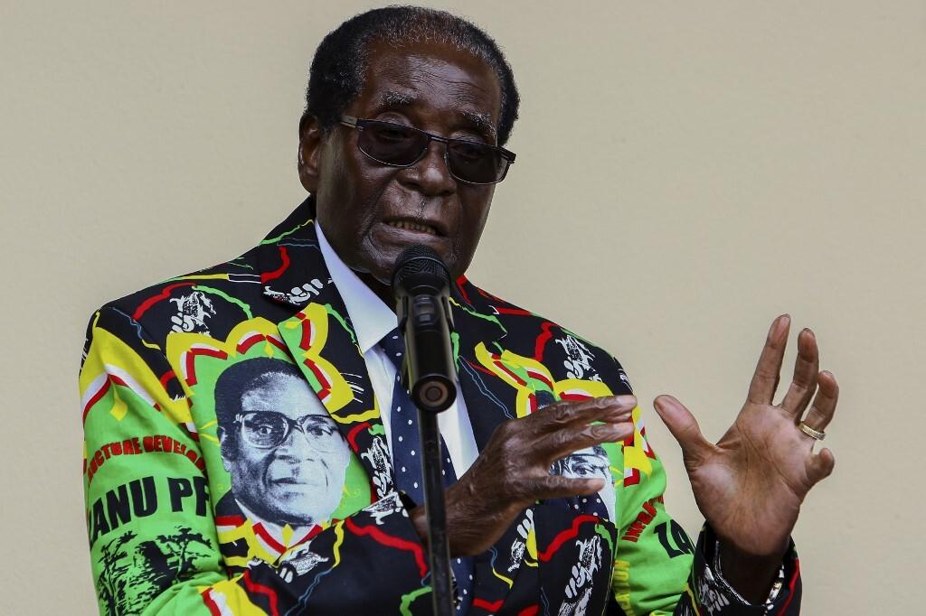 رئيس زيمبابوي السابق، روبرت موغابي