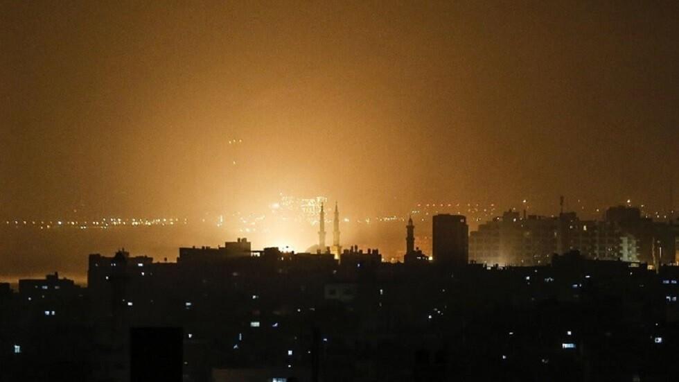 إسرائيل تقصف عددا من المواقع في قطاع غزة