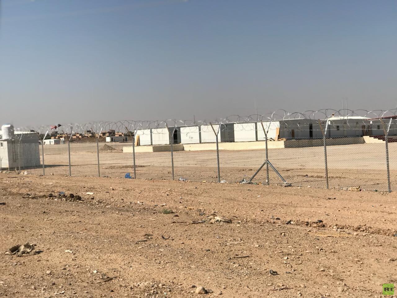 صور حصرية للمنطقة التجارية بين العراق وسوريا
