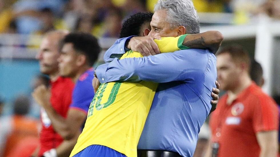 مدرب البرازيل: نيمار أفضل من هازارد ولاعبان فقط  يتفوقان عليه
