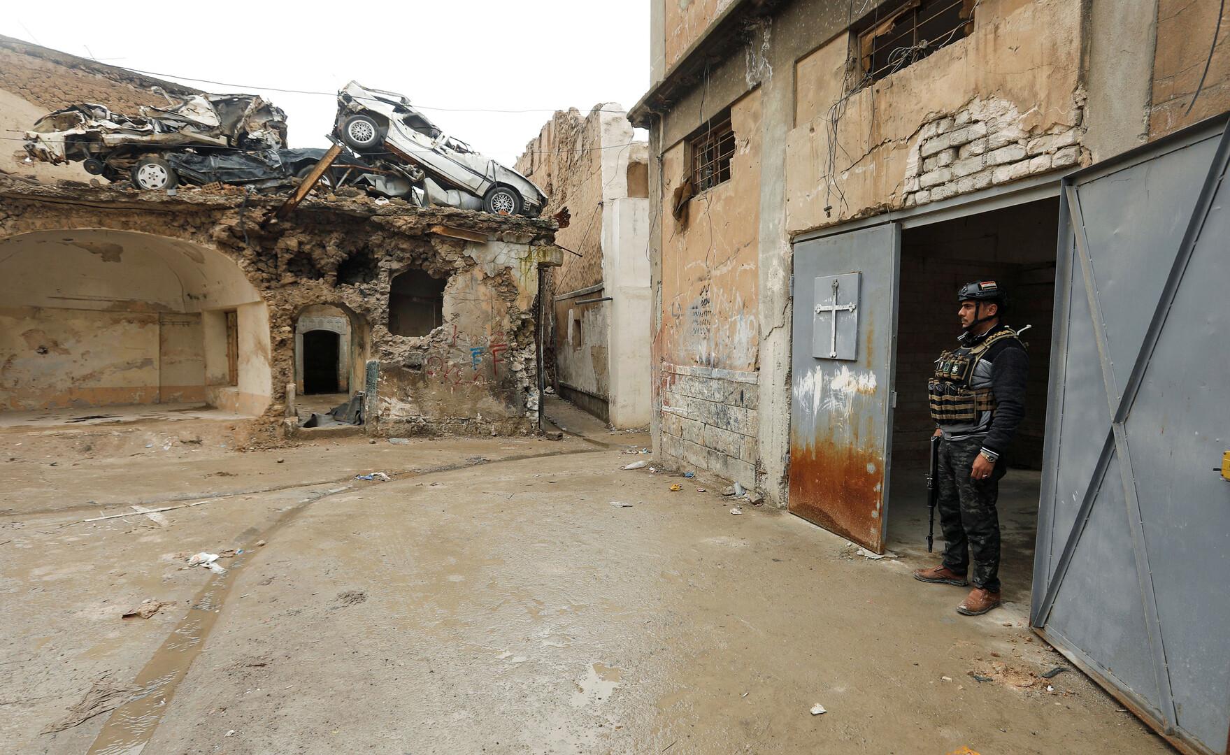 مقتل عسكريين اثنين أثناء تفكيك عبوات ناسفة في منزل غربي مدينة الموصل