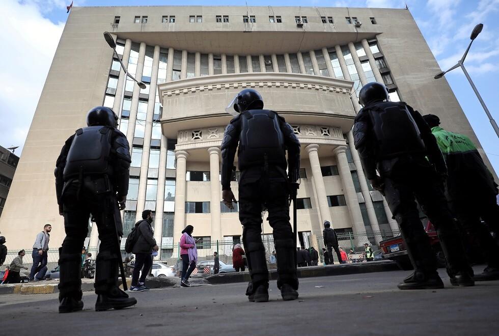 قوات أمن مصرية - أرشيف -