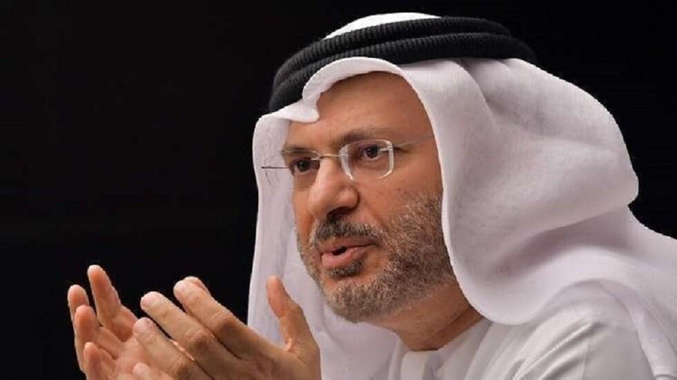 قرقاش:  نقف مع السعودية في دعوتها للحوار
