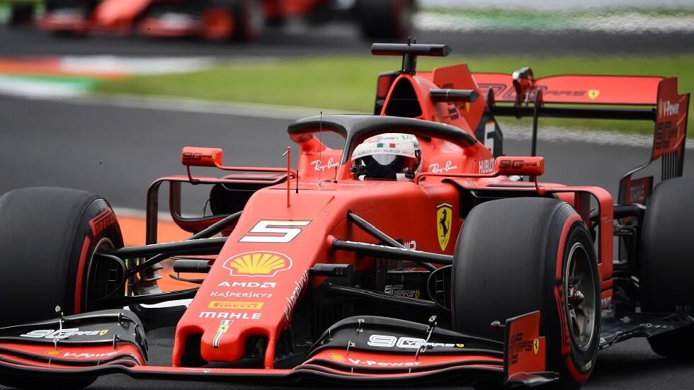 فيتل الأسرع في التجارب الأخيرة لسباق إيطاليا