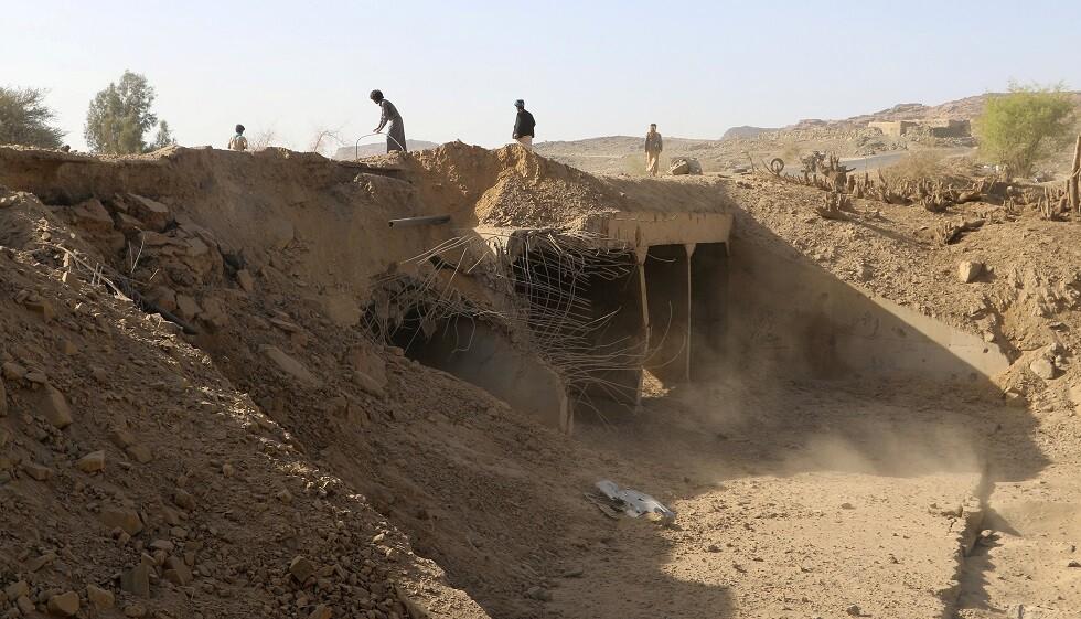 راجمات الصواريخ السعودية تستهدف مواقع تمركز الحوثيين في صعدة