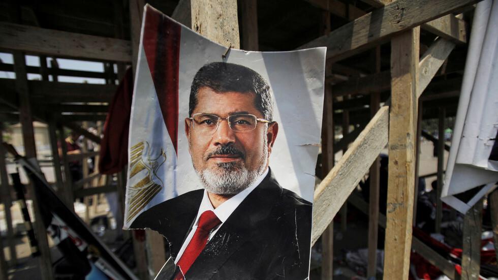 صورة للرئيس المصري الراحل، محمد مرسي، في القاهرة