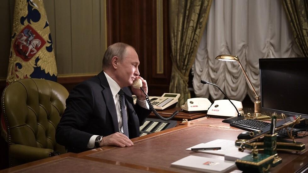 بوتين يبحث مع زيلينسكي التسوية الأوكرانية والتحضير لقمة