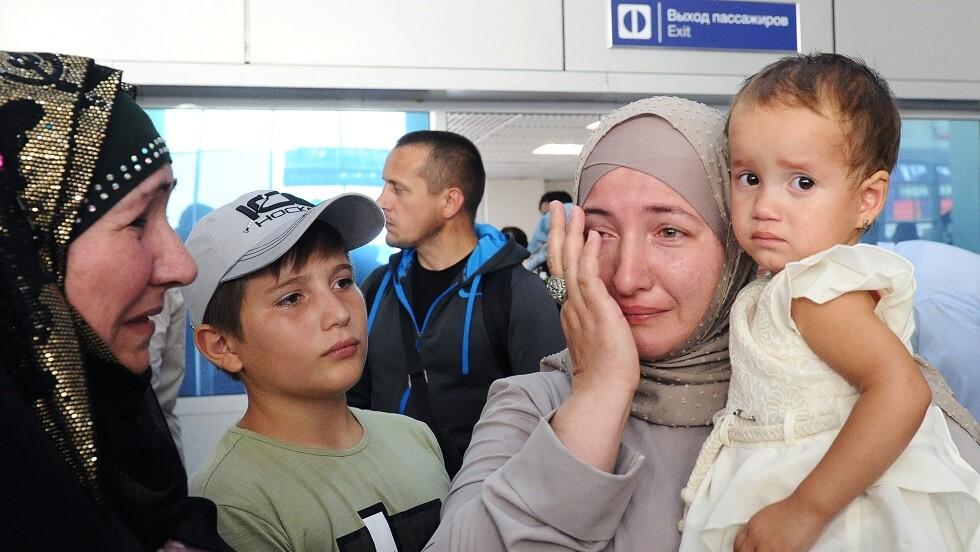 عودة 4 أطفال روس من سوريا
