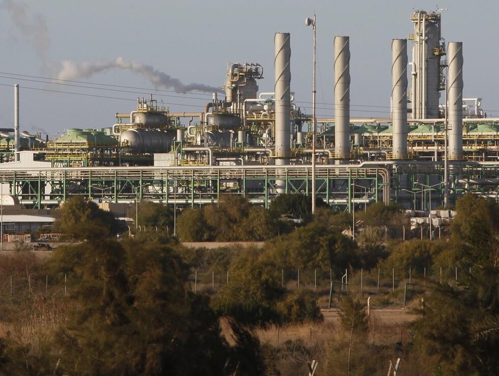 منشأة نفطية غرب طرابلس