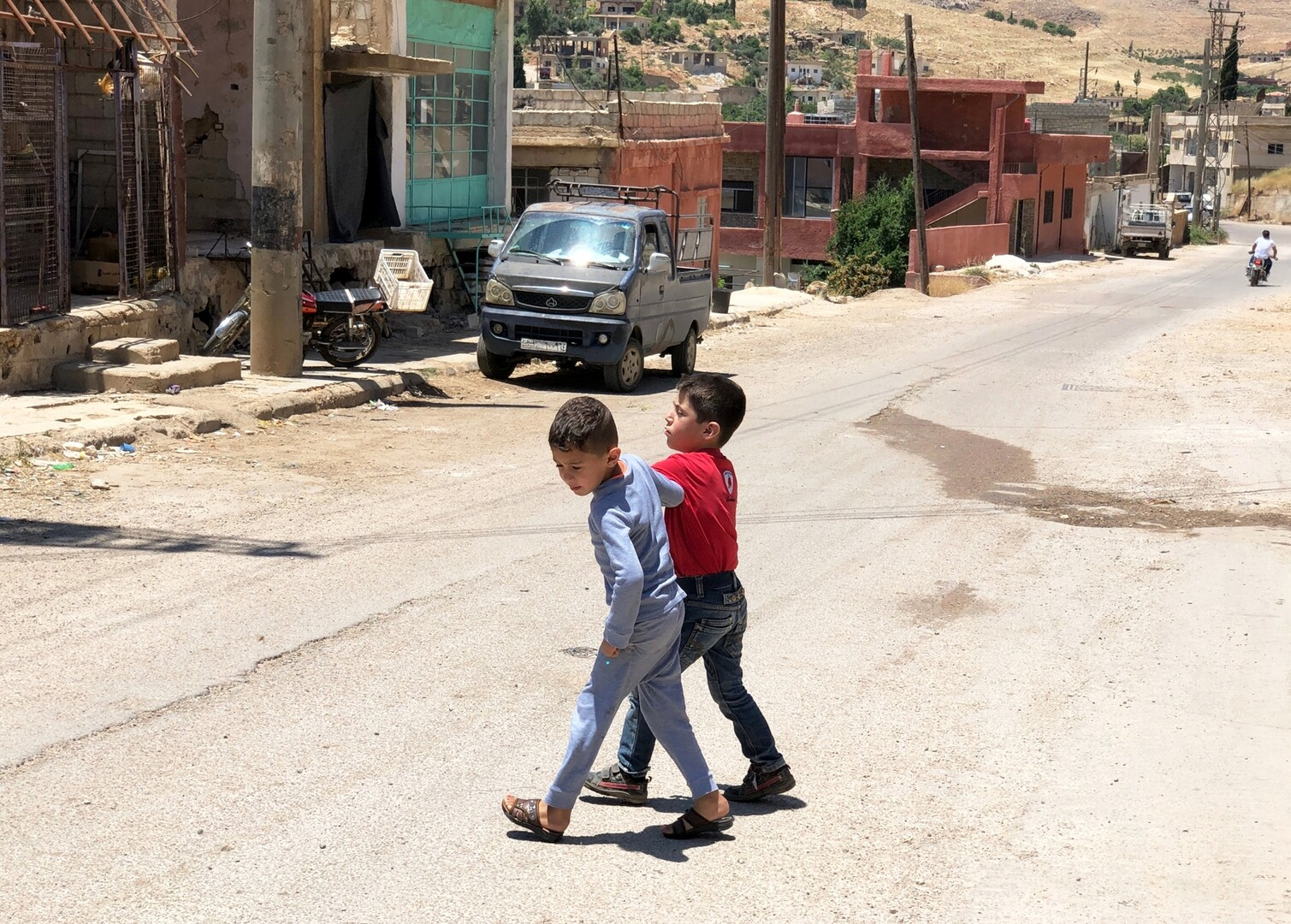 الأطفال الروس العائدون مؤخرا من سوريا بصحة جيدة