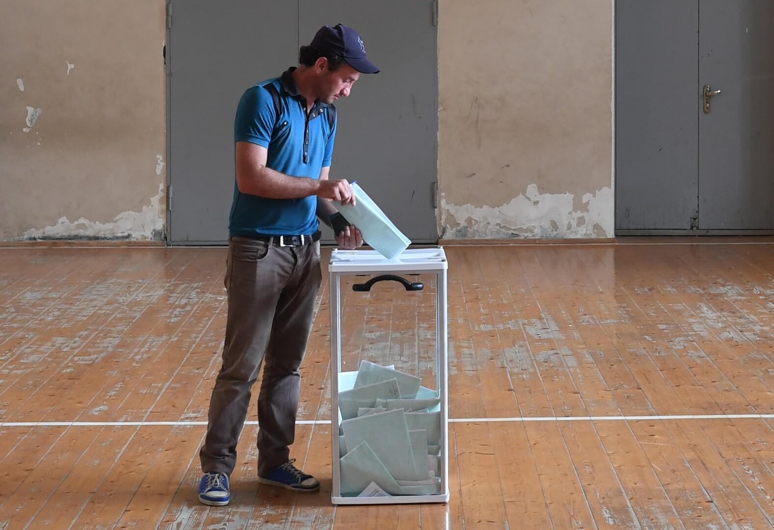 بدء الجولة الثانية من الانتخابات الرئاسية في أبخازيا