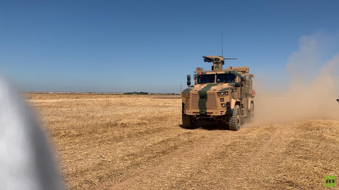 تسيير أولى الدوريات الأمريكية التركية المشتركة في المنطقة الآمنة شمالي سوريا