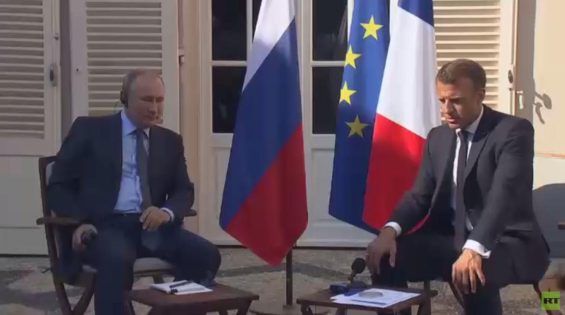 ملف العلاقات الروسية الفرنسية
