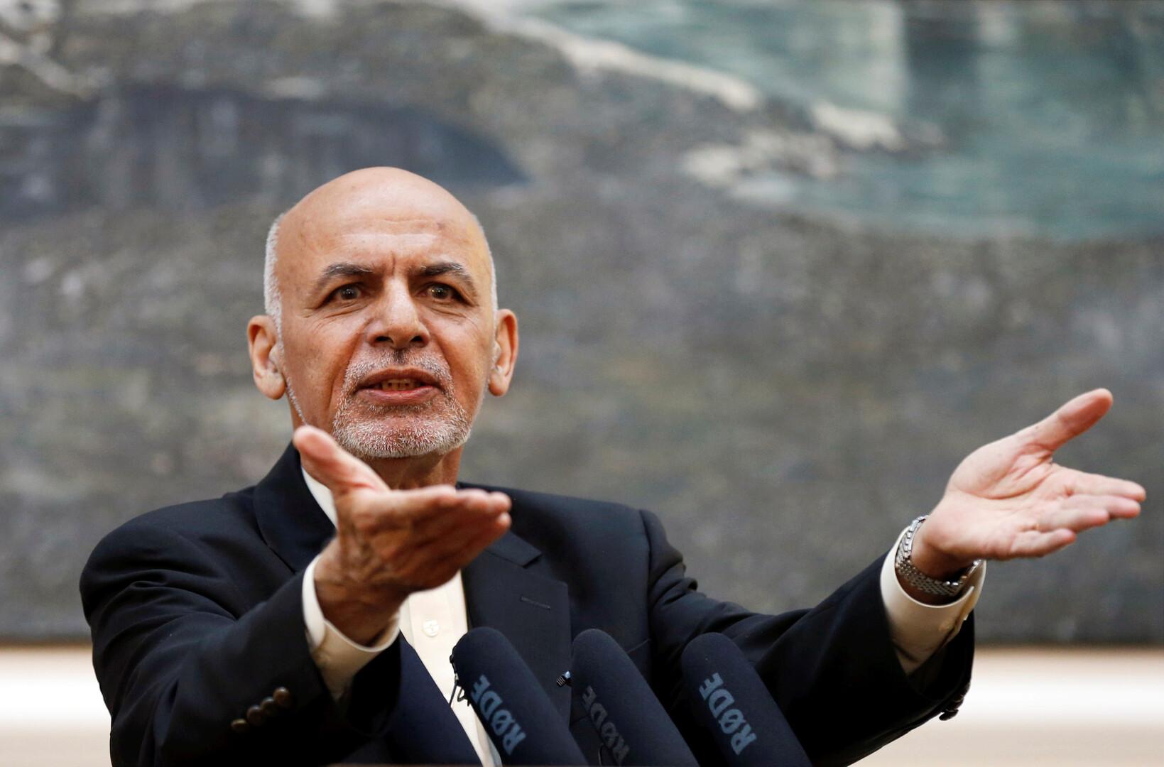 الرئيس الأفغاني: العنف الذي تمارسه