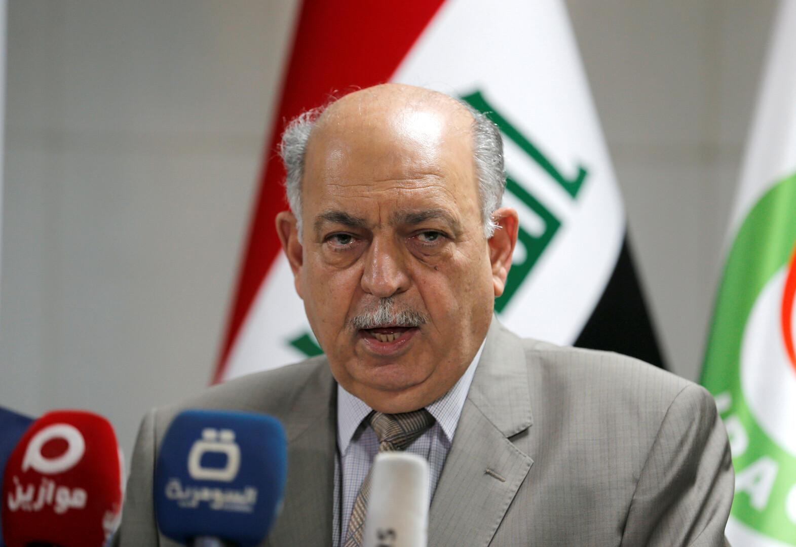 وزير النفط العراقي: رفع عقوبات أمريكية عن إيران لن ينعكس سلبا على سوق النفط