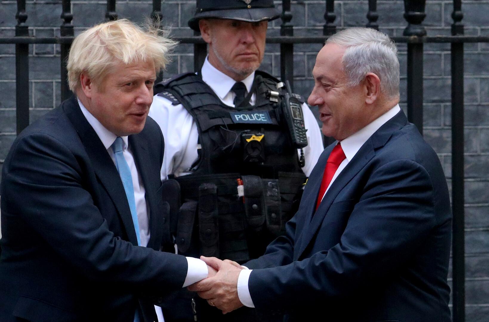 نتنياهو يبحث في بريطانيا إجراءات ضد إيران