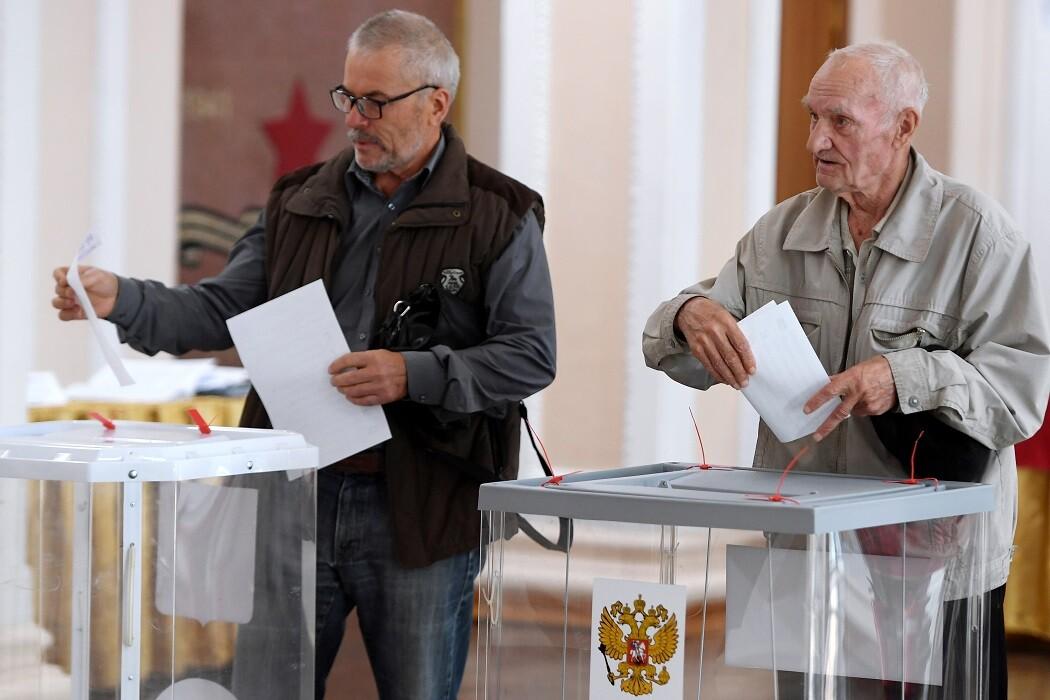 يوم الانتخابات في روسيا