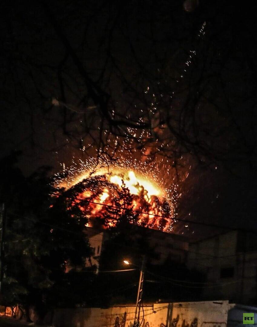 مصدر لـRT: فصائل عراقية مسلحة تعرضت للقصف داخل سوريا (صورة)