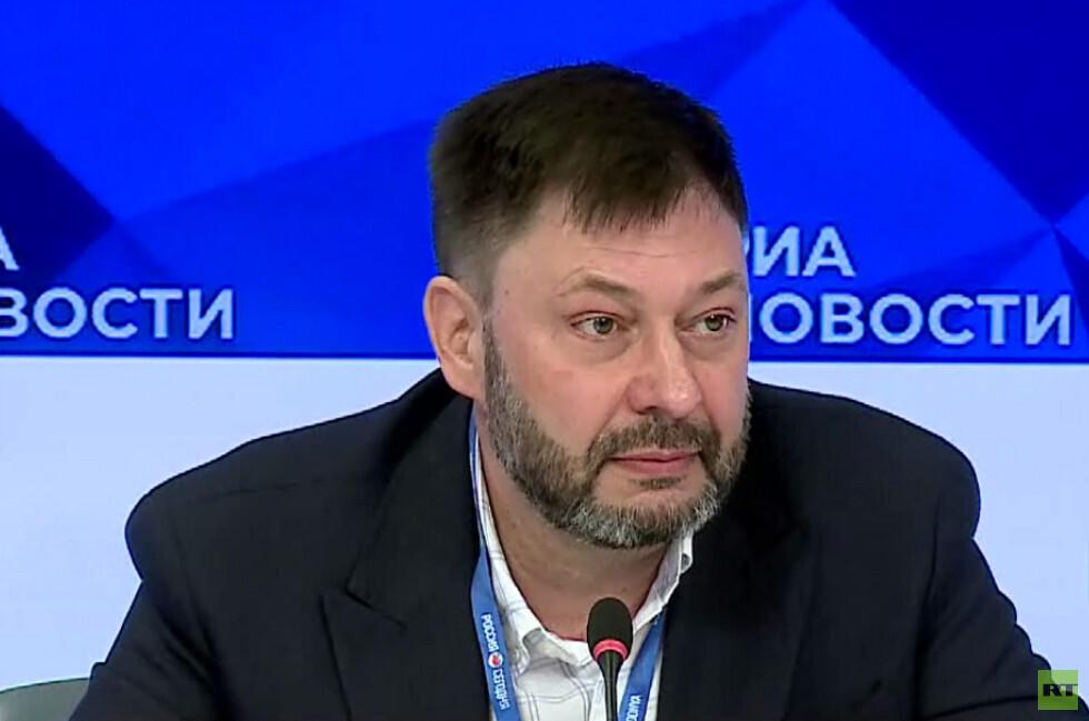 تصريحات للصحفي الروسي كيريل فيشينسكي بعد تحريره من كييف