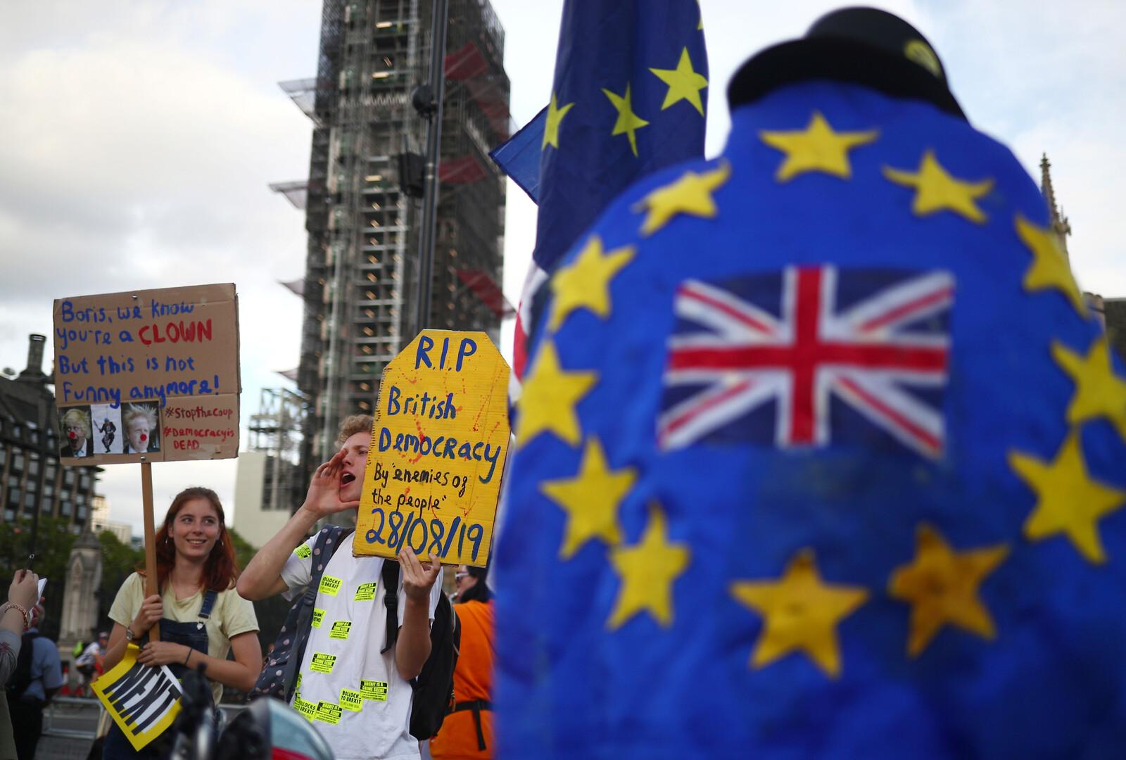 تعليق البرلمان البريطاني يدخل اليوم حيز التنفيذ