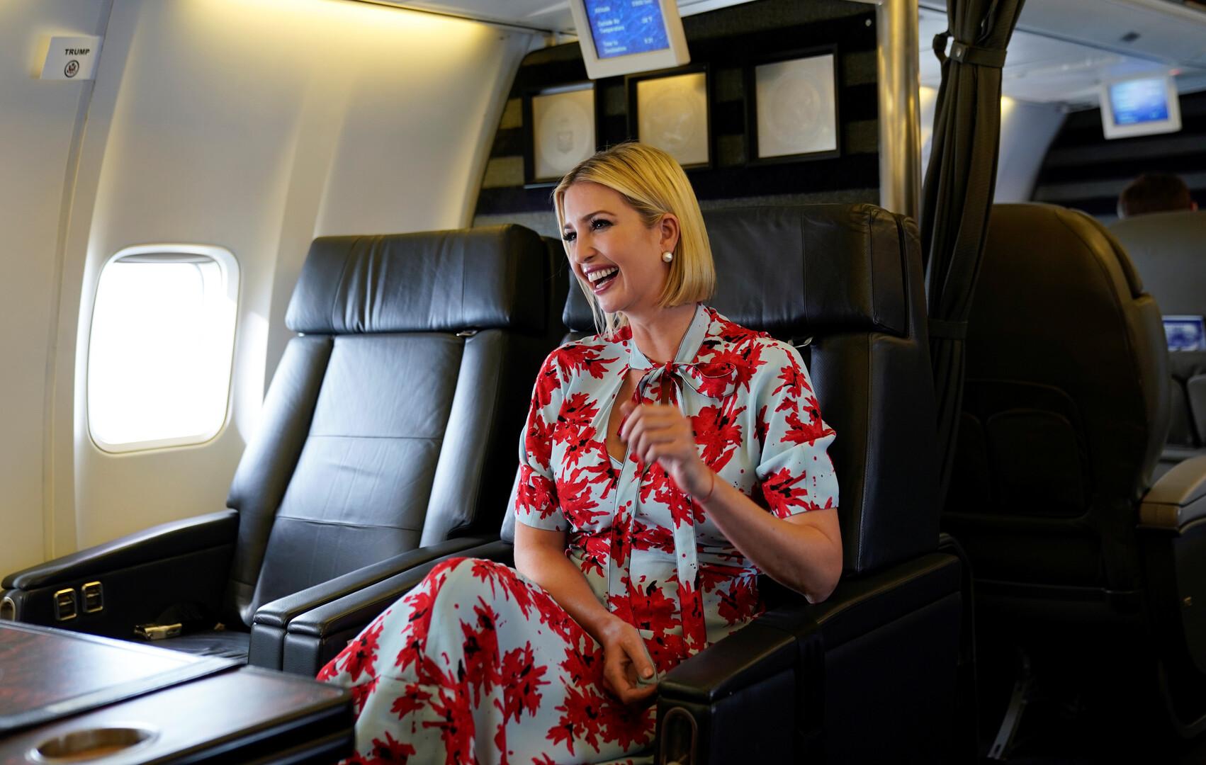 إيفانكا ترامب، ابنة ومستشارة الرئيس الأمريكي، دونالد ترامب