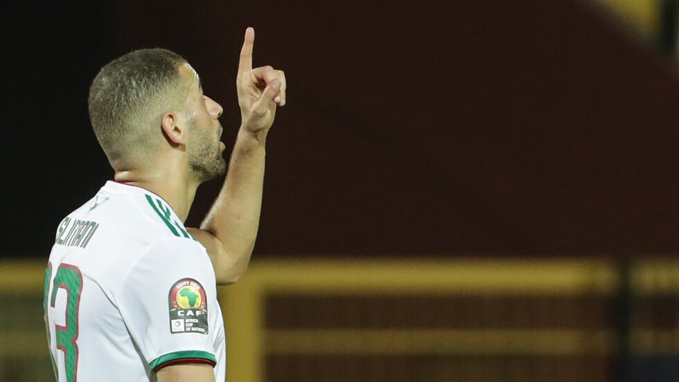 شاهد.. سليماني يقود الجزائر للفوز على بنين