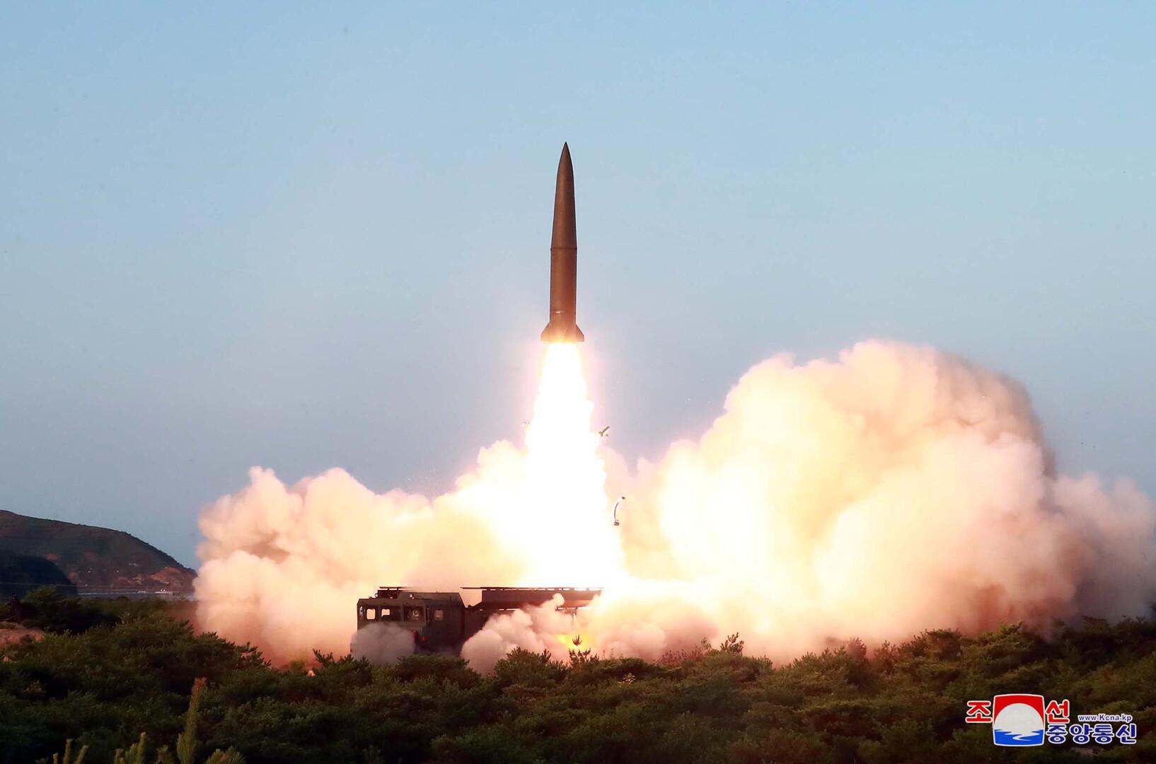 بيونغ يانغ تطلق صاروخين صباح اليوم بلغ مداهما 330 كيلومترا