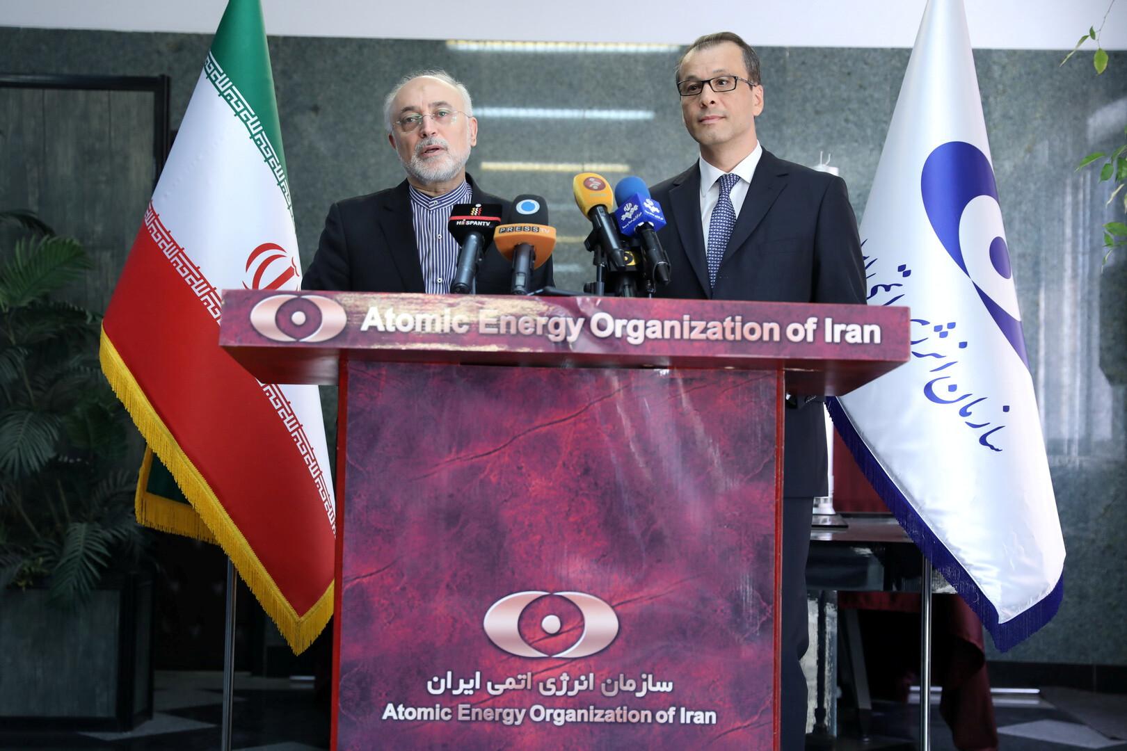 القائم بأعمال المدير العام للوكالة الدولية للطاقة الذرية، كورنيل فيروتا، في طهران