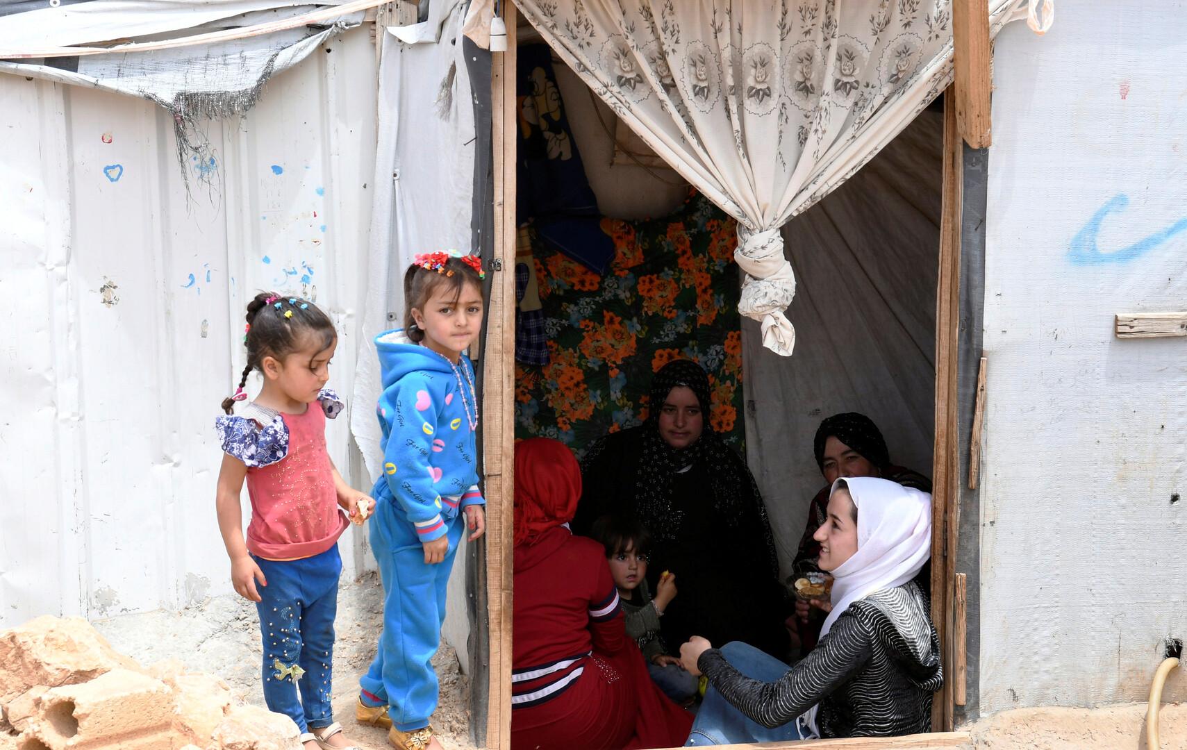 الرئيس اللبناني يحث واشنطن على تسهيل عودة النازحين السوريين إلى أرضهم