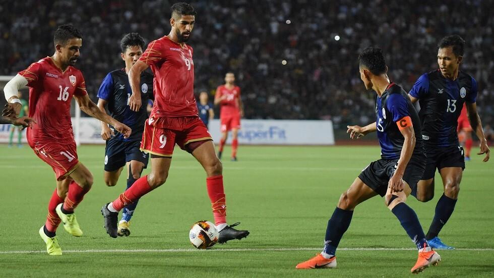 البحرين تحقق فوزا ثمينا على كمبوديا وتتصدر مجموعتها في تصفيات مونديال 2022