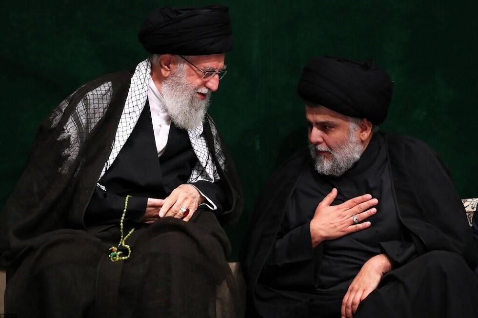 الصدر يلتقي خامنئي وسليماني في إيران