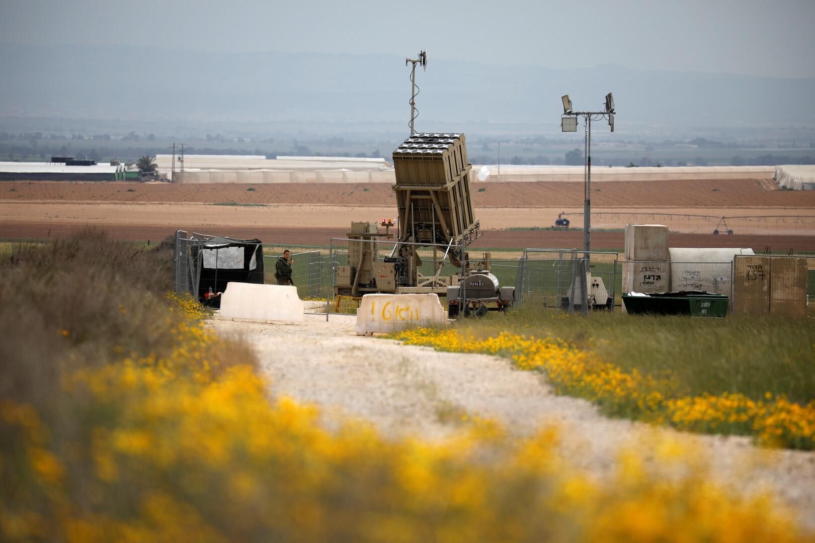الجيش الإسرائيلي: اعتراض صاروخين أطلقا من قطاع غزة باتجاه عسقلان وأسدود