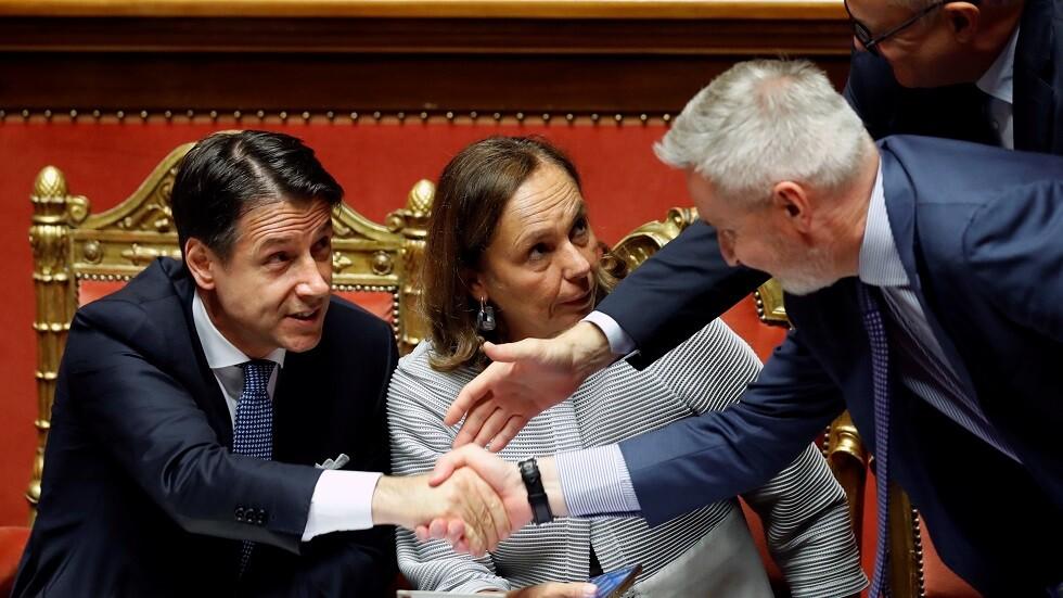 الحكومة الإيطالية الجديدة تنال موافقة مجلس الشيوخ
