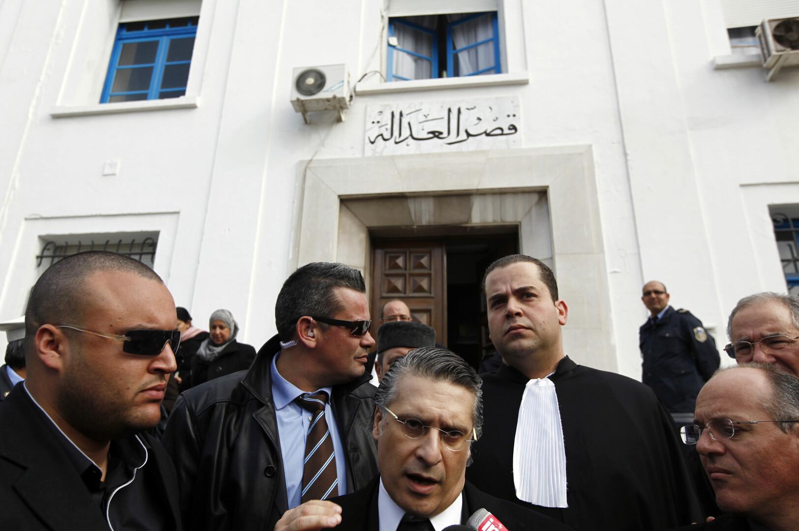 القضاء التونسي يرفض السماح للمرشح الموقوف نبيل القروي بإجراء مقابلة تلفزيونية
