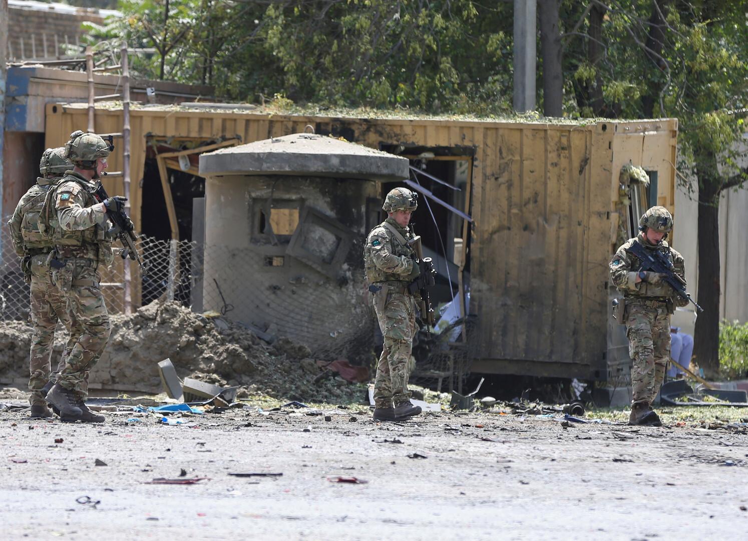 تفجير في كابل- أرشيف