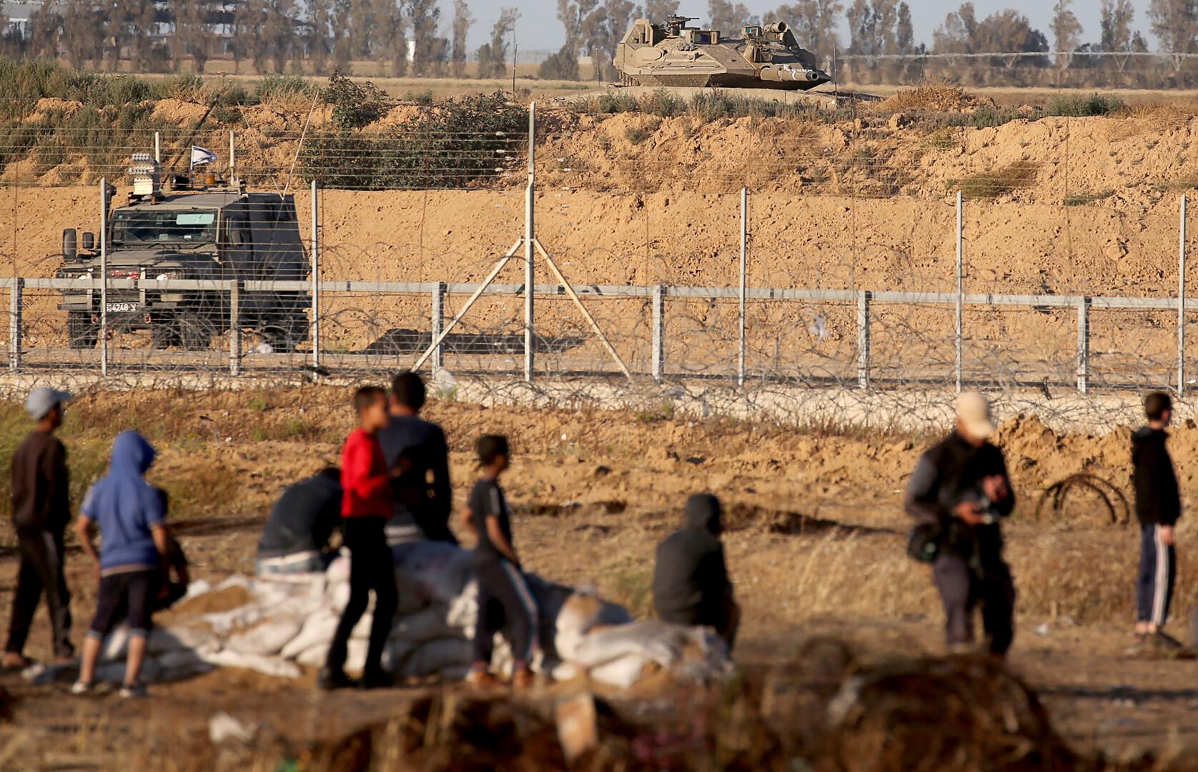 الجيش الإسرائيلي: إطلاق صافرات الإنذار في البلدات والمستوطنات المحاذية لقطاع غزة