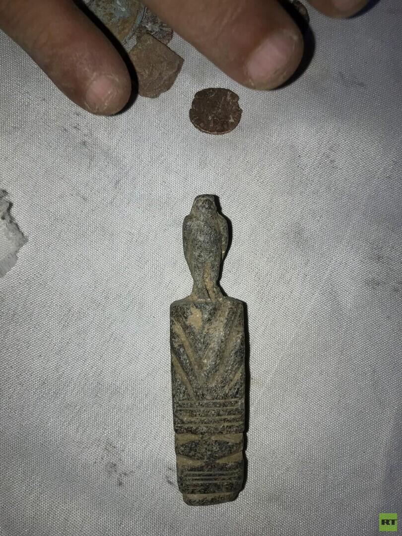 مصر.. ضبط كمية كبيرة من القطع الأثرية المعدة للبيع (صور + فيديو)
