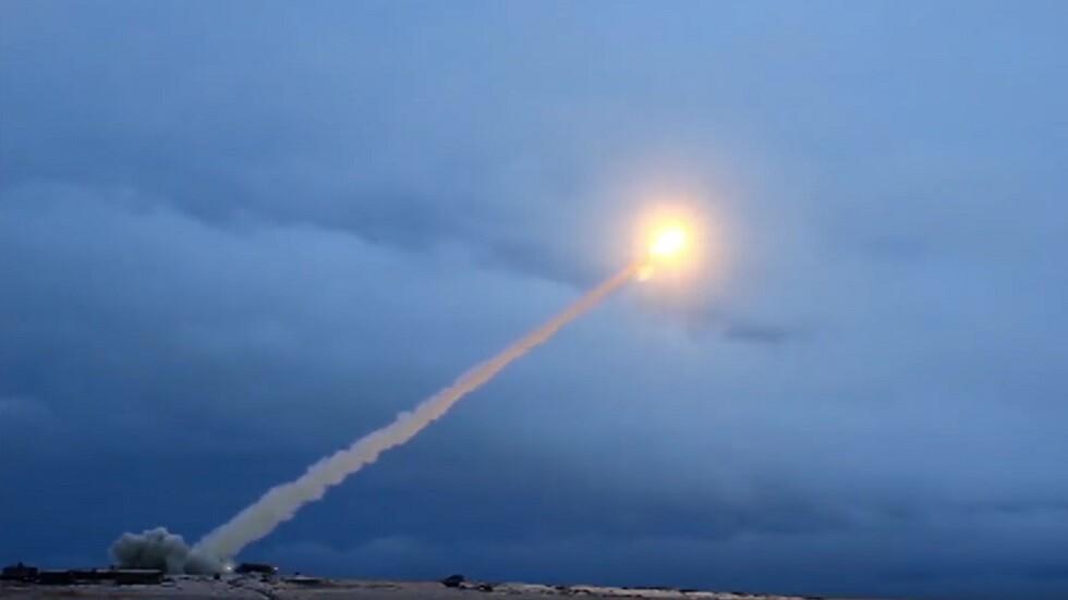 """اختبار صاروخ """"بوريفيستنيك"""" المجنح الفرط صوتي"""