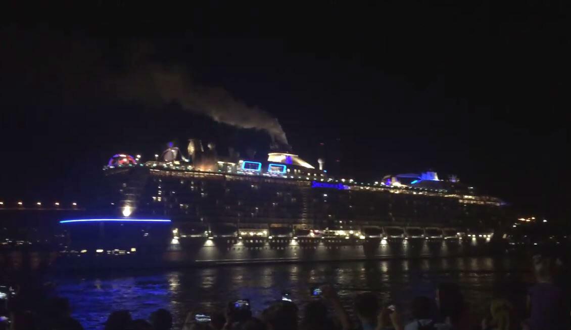 تعرف على أكبر سفينة في التاريخ دخلت ميناء فلاديفوستوك