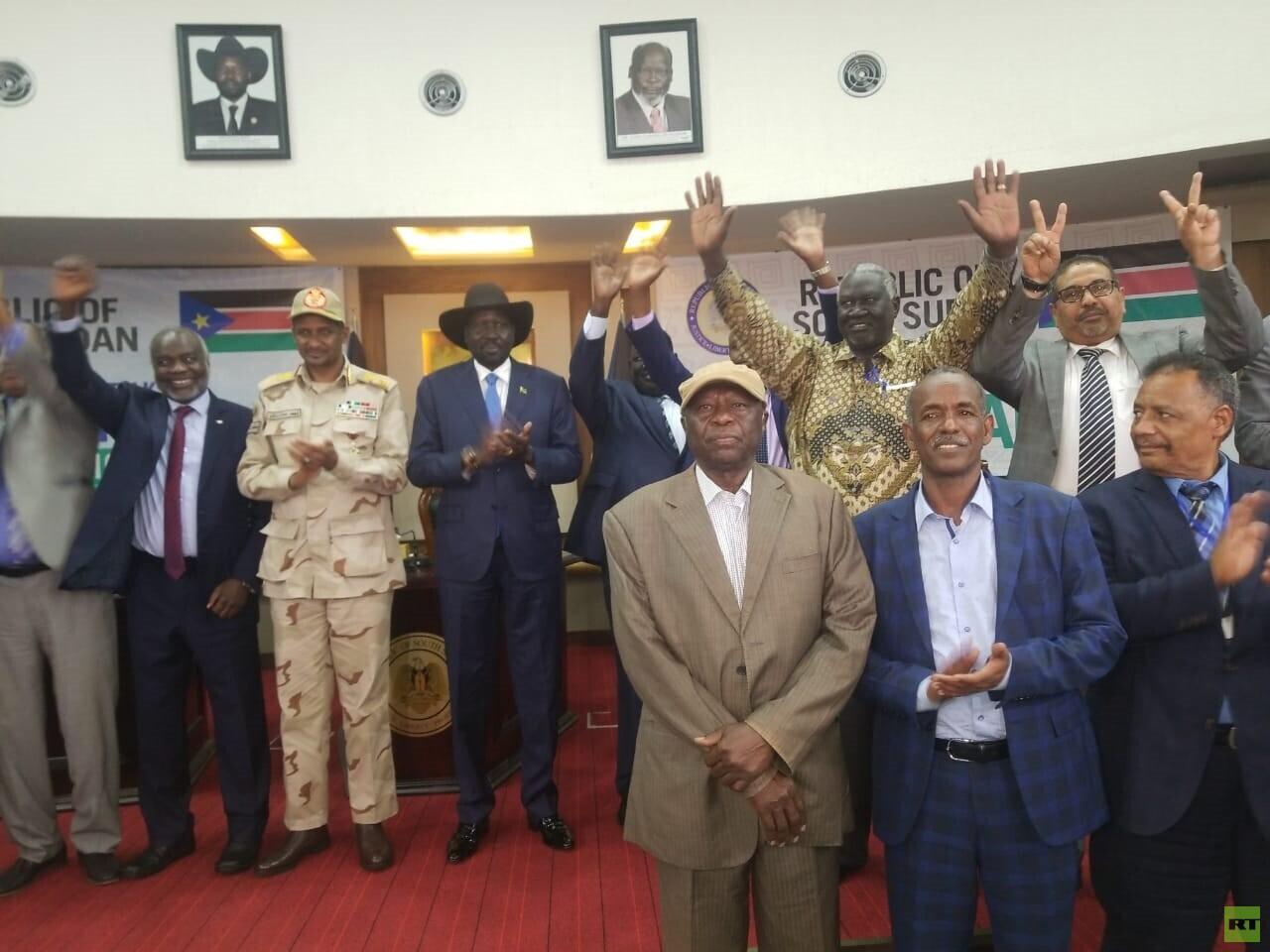 """توقيع """"إعلان جوبا"""" ل'جراءات بناء الثقة والتفاوض بين الحكومة والحركات المسلحة السودانية"""